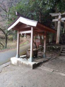 金持神社の手水場の写真